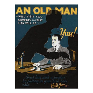 An Old Man Poster