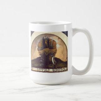 An Old Mountain Troll Classic White Coffee Mug
