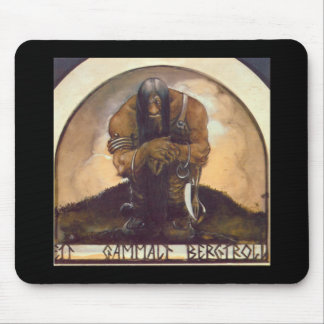 An Old Mountain Troll Mouse Pad