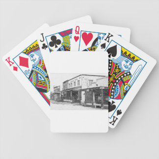 An Old Western Town Bicycle Playing Cards