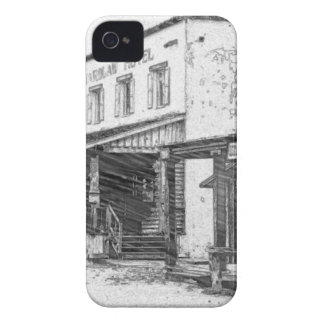 An Old Western Town iPhone 4 Case