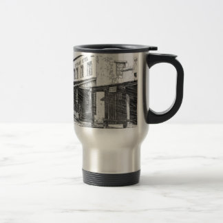 An Old Western Town Travel Mug