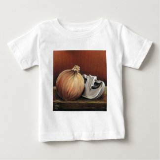 An onion and a mushroom baby T-Shirt