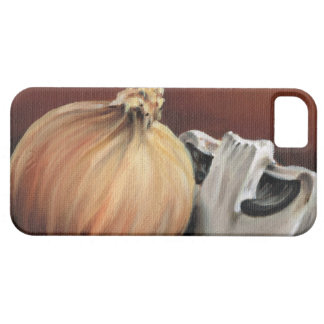 An onion and a mushroom iPhone 5 case