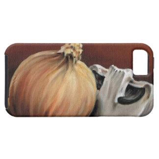 An onion and a mushroom iPhone 5 cover