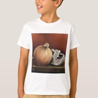An onion and a mushroom T-Shirt