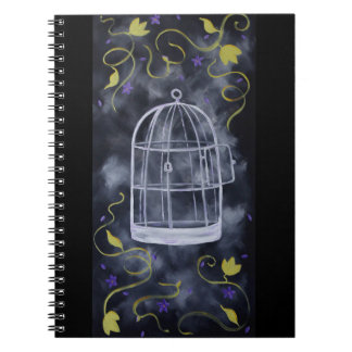 An Open Cage Note Book