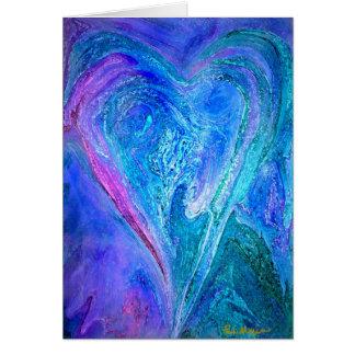 An Open Heart Greeting Card