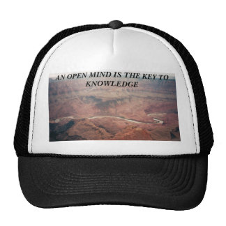 AN OPEN MIND IS THE KEY TO KNOWL... TRUCKER HAT
