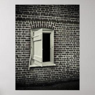 An Open Window Poster
