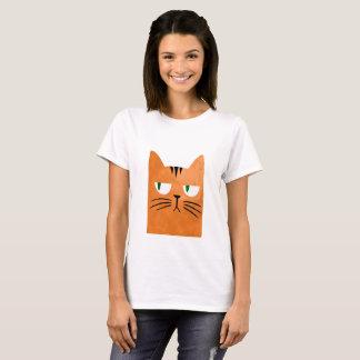 An orange cat with an attitude T-Shirt