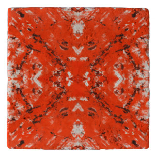 An Orange Nation -square Trivet