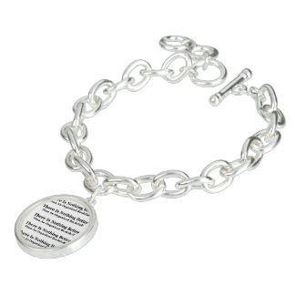 An Organized Bookshelf Charm Bracelet