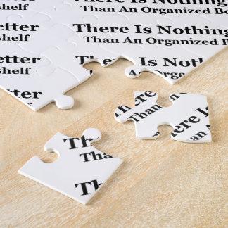 An Organized Bookshelf Puzzle