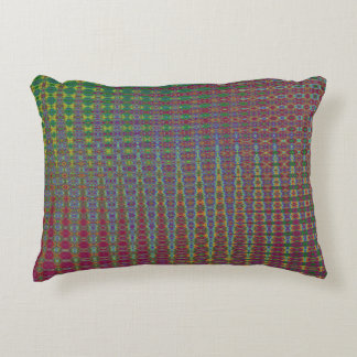 AN OSCILLATING TIME WARP IN THE TENTH UNIVERSE DECORATIVE PILLOW