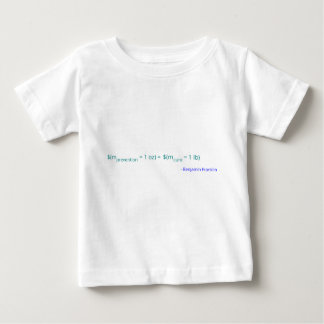 An ounce of prevention is worth a pound of cure baby T-Shirt