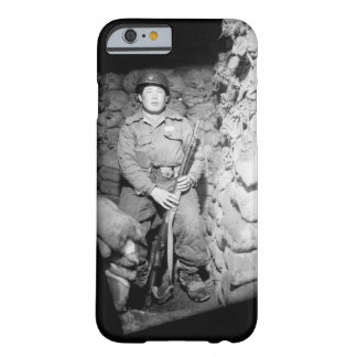 An ROK soldier guards the Panmunjom_War Image Barely There iPhone 6 Case