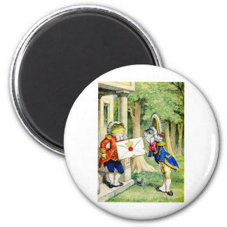 AN ROYAL INVITATION FROM THE QUEEN 2 INCH ROUND MAGNET