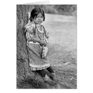An Umatilla Girl Card