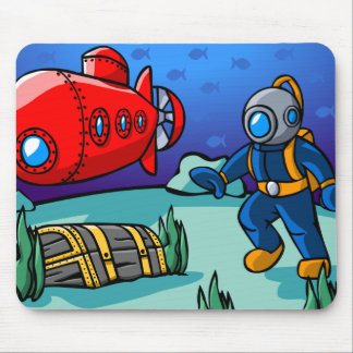 An Underwater Adventure Mouse Pad