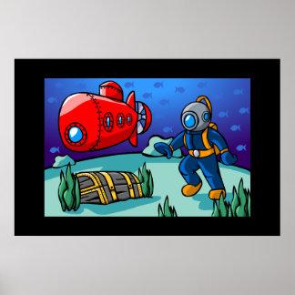 An Underwater Adventure Poster
