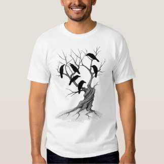 An unkindness of ravens tee shirt