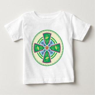 An Updated Celtic Cross Baby T-Shirt