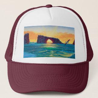 Anacapa arch trucker hat