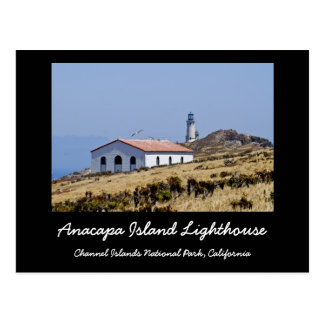 Anacapa Island Lighthouse Postcard
