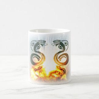 Anacondas Do Battle in Explosion on Mug