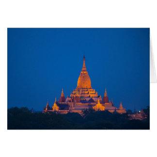 Anada Temple At Twilight Card