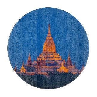 Anada Temple At Twilight Cutting Board