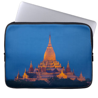 Anada Temple At Twilight Laptop Sleeve