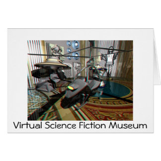 Anaglyph002, Virtual Science Fiction Museum Greeting Card