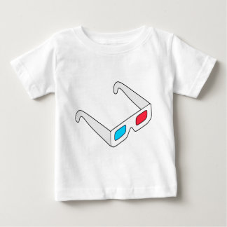 Anaglyph Glasses Baby T-Shirt