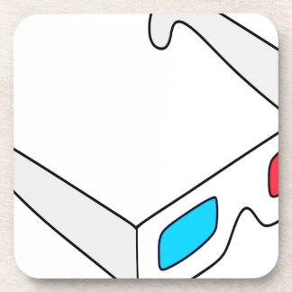 Anaglyph Glasses Coaster