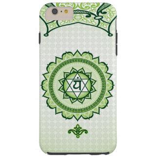 Anahata vert, 4ème cas de téléphone de Chakra Coque iPhone 6 Plus Tough
