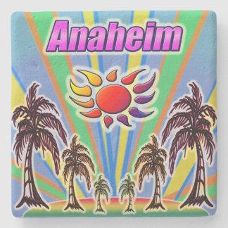 Anaheim Summer Love Coaster Stone Beverage Coaster
