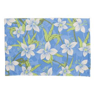 Anaina Hou Hawaiian Tropical Floral Pillowcase