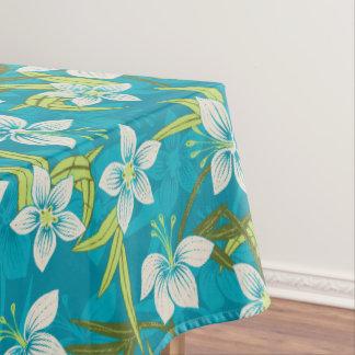 Anaina Hou Hawaiian Tropical Floral Tablecloth