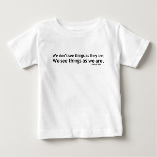 Anais Nin Motivational Quotation Baby T-Shirt