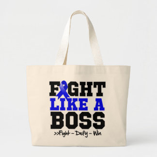 Anal Cancer Fight Like a Boss Tote Bags