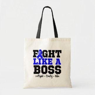 Anal Cancer Fight Like a Boss Tote Bag