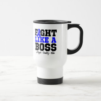 Anal Cancer Fight Like a Boss Coffee Mugs