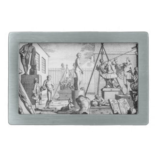 Analisis of Beauty by William Hogarth Belt Buckle