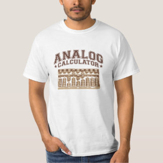 Analog Calculator T-Shirt