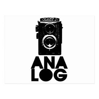 Analog! Postcard