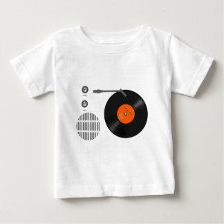 Analog record player baby T-Shirt