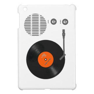 Analog record player iPad mini cover