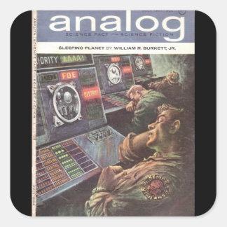 Analog v073 n06 (1964-08.Conde Nast)_Pulp Art Square Sticker